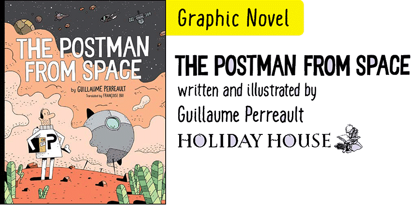 Postman from Space cover